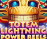 รูปพื้นหลังเกมสล็อต Totem Lightning Power Reels
